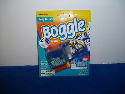Boggle Keychain Letter Game That Really Works 8 years and up Travel NEW
