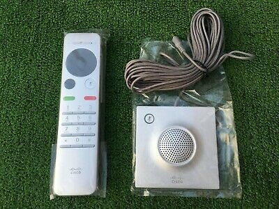 Cisco CTS-RMT-TRC6 Remote with Cisco Telepresence Table Microphone 20 - NEW!!!