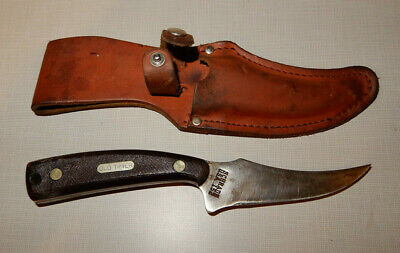Schrade Old Timer 152 Knife and Leather Sheath