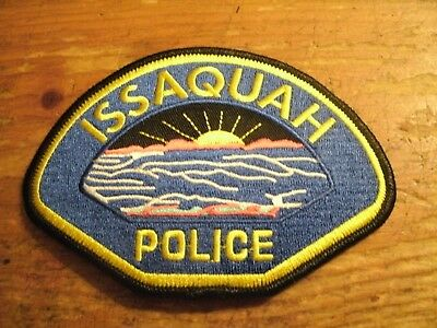 Issaquah Police Patch
