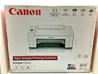 Canon Pixma TS3122 Wireless All-in-One Inkjet Printer (ink not included)