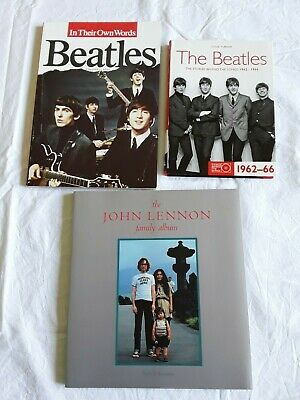 3 THE BEATLES MUSIC BOOKS John Lennon Paul McCartney