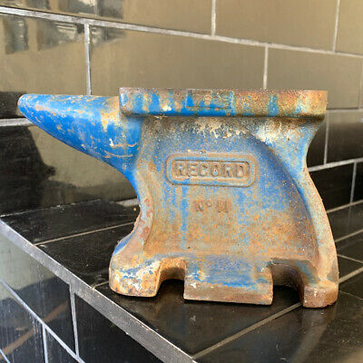 RECORD BRAND NO.11 CAST IRON ANVIL Made In England