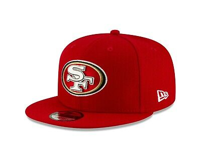 San Francisco 49ers New Era METAL AND THREAD 9Fifty Snapback Hat - Red