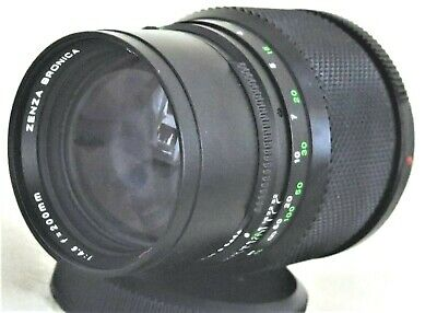 ZENZA BRONICA Zenzanon MC 200mm f/4.5 Medium Format Lens for ETR ETRS Excellent-