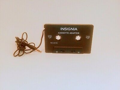 Insignia- 3' 3.5mm Cassette Adapter - Multi NS-CA103