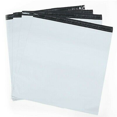 Metronic Large Shipping Bags 100 Pack White Poly Mailers 19x24 Envelopes ... New