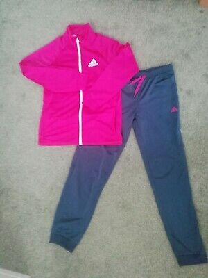 Girls age 13-14 Adidas Tracksuit worn once