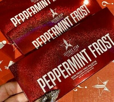 Jeffree Star Peppermint Highlighter Palette Rare Exclusive