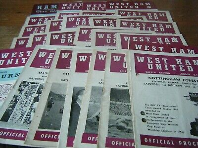 31   West Ham United  Homes  1965  - 1970     All Listed   The Small Programmes