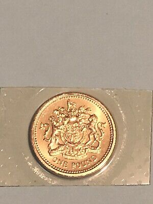 1983 £1 One Pound Coin - First Pound Coin Uncirculated UK BUNC