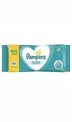 PAPMPERS 3x80 baby wipes xxl sensitive fragrance free