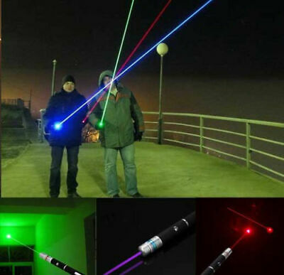 Red 1mW Laser Pointer Pen Beam Light For Presentations Cat Toy Lazer Portable L