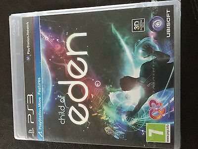 Child of Eden PS3 playstation 3 game NEW & FACTORY SEALED RARE! Collectors