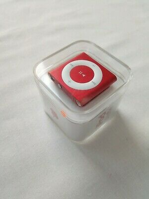 COLLECTORS ITEM SEALED  Apple iPod Shuffle 4th Generation - Rare - PRODUCT RED