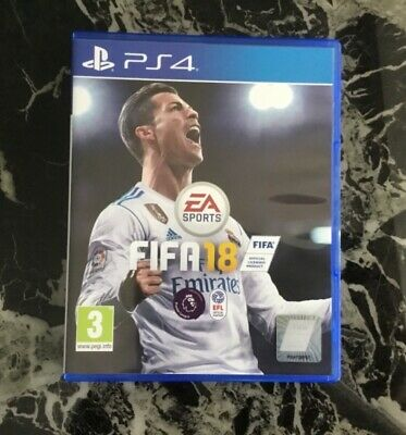 PS4 Fifa 18 PlayStation 4 Official Football Game