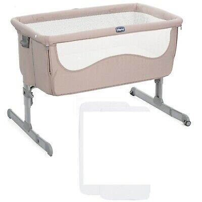 Chicco Next2Me side sleeping crib / cot - chick to chick