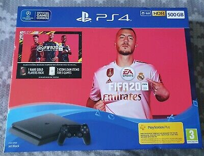 Playstation 4 500GB+ Fifa 20 Bundle Brand New
