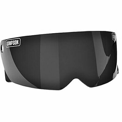 Simpson M30DSS M30 Bandit Dark Smoke Shield Motorcycle Visor