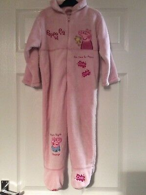 Mothercare Peppa/george Pig Pink Onesise Vgc Age 2-3 Years