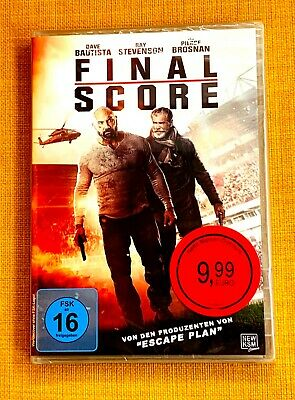 "FINAL SCORE   ""Stirb langsam""      DVD neu, ovp."