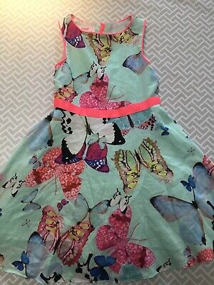 Ted Baker Girls Butterfly  Skater Dress 6 Years
