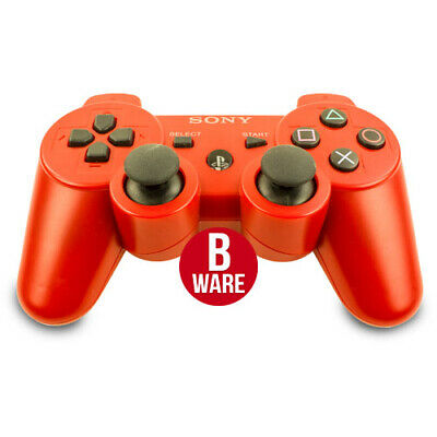 Originale sony PS3 senza Fili Dualshock 3 Controller in Rosso - PS3 ( Merce )