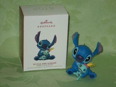 Hallmark ~ 2019 ~ STITCH and SCRUMP ~ Disney Lilo & Stitch ~ free shipping