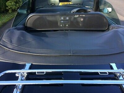 Mgf / Mg Tf Black Tonneau Cover. Excellent Condition. *No Reserve*
