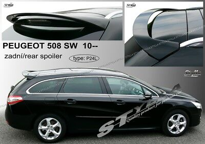 Spoiler Rear Roof Tailgate Peugeot 508 Sw Avant Estate Combi Wing Accessories