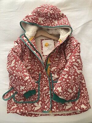 Girls Pink Boden Lined Jacket, Size 4-5 Years