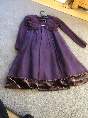 Monsoon Stunning Dresd And Fabulous Matching Cardigan Age 10-12 And 11-12