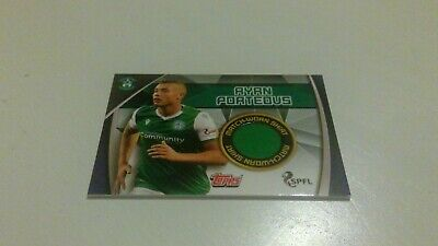 Topps Match Attax Spfl 2019/20 Rare Hibs Ryan Porteous Shirt Card