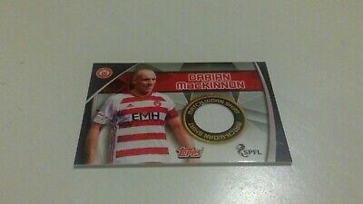 Topps Match Attax Spfl 2019/20 Rare Hamilton Accies Darian Mackinnon Shirt Card