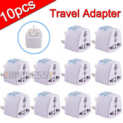 New UNIVERSAL UK USA EU to AU AC Power Plug Adapter Travel Converter Australian