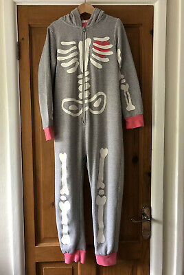 John Lewis Girls Skeleton All In One One Piece Age 8-9