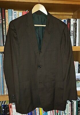Vintage Ivy League Sack Jacket Brown Cricketeer 41 42 Made in the USA 50s 60s