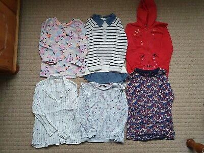 Girls Age Size 5-6 Years Winter Tops Bundle H&M Zara Next George Hoodie