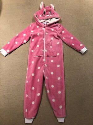 Age 5 - 6 Years Bunny Nightwear Onesey