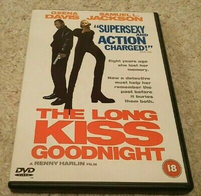 The Long Kiss Goodnight (DVD, 1999) Samuel L Jackson Geena Davis