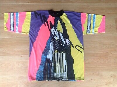 "Mens Vintage ""Maniac"" T Shirt Xl, Rave,  Hipster Wear."