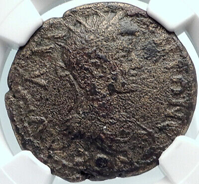 CARACALLA Authentic Ancient ODESSOS THRACE Roman Coin GREAT GOD Altar NGC i81880