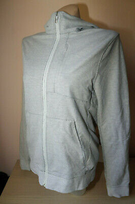 Lululemon Authentic Genuine Grey Gym Zip Up Hoodie Ladies Size M