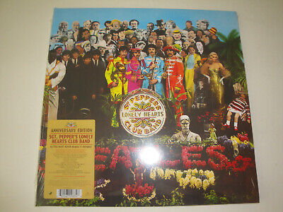 The Beatles: Sgt. Pepper's Lonely Hearts Club Band Vinyl LP (Us-Pressung)