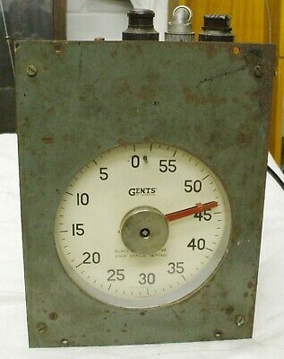 Rare Gents Of Leicester C39 Process Timer Clock.not A Master.