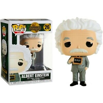 Funko Pop Icons Series : World History; 26: Albert Einstein Pop Vinyl Figurine