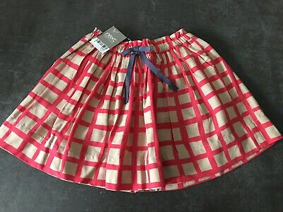 Girls Next Red Skirt Age 5 BNWT