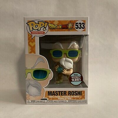 Funko Pop! Master Roshi Specialty Series Exclusive Dragon Ball Z Super Animation