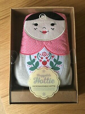 New In Box Huggable Hottie Russian Doll Design Microwaveable Heat Pad Aroma Home