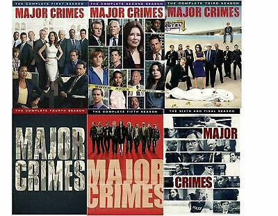 Major Crimes Complete All Seasons 1-6 DVD Set TV Show Series Collection Episodes